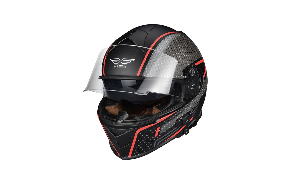 1275   integrated bluetooth motorcycle full face helmet   red storm  web1