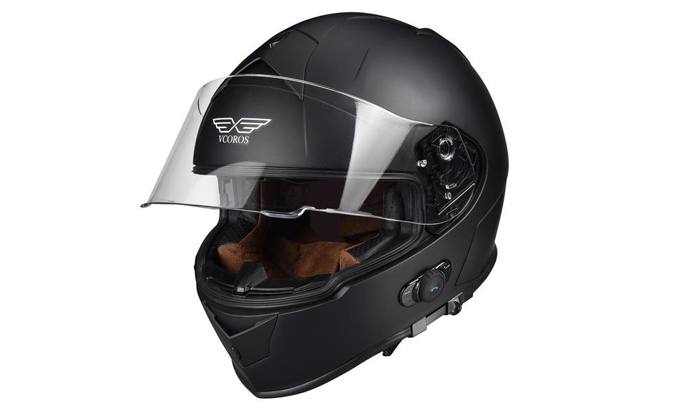 Black   motorcycle full face helmet   web2