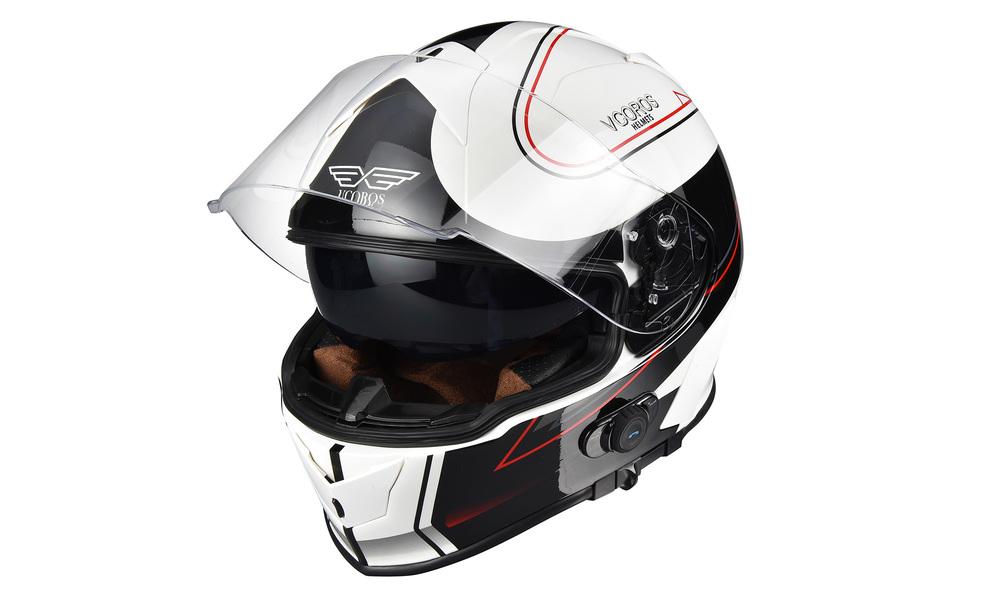 White red   motorcycle full face helmet   web2