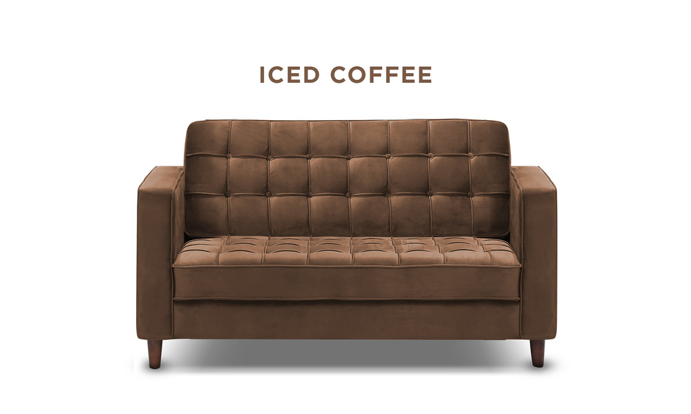 Iced coffee   knightly velvet 2 seater couch   web1