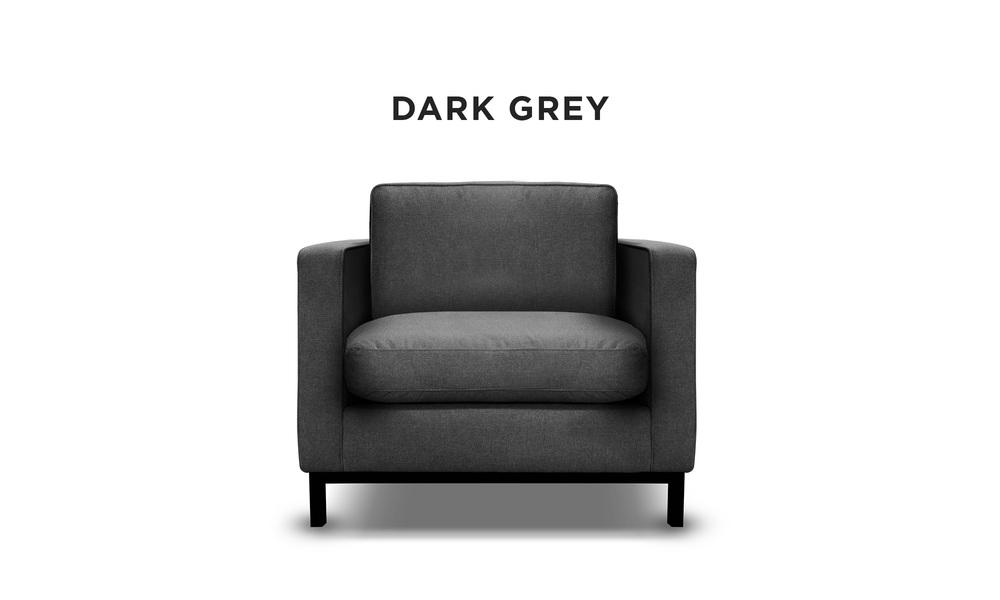 Dark grey   archer armchair   web1