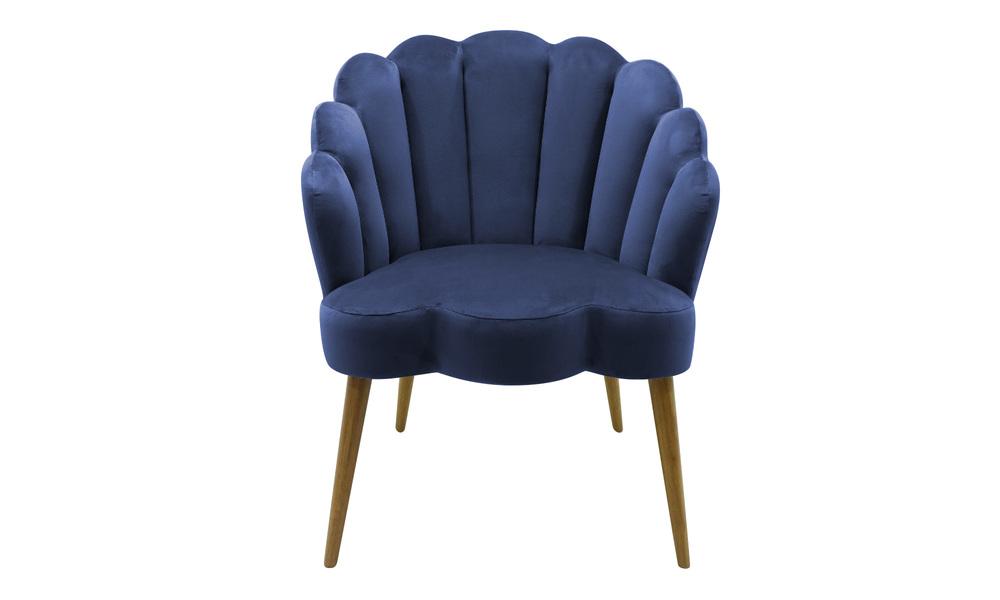 Navy   shelly velvet chair   web3