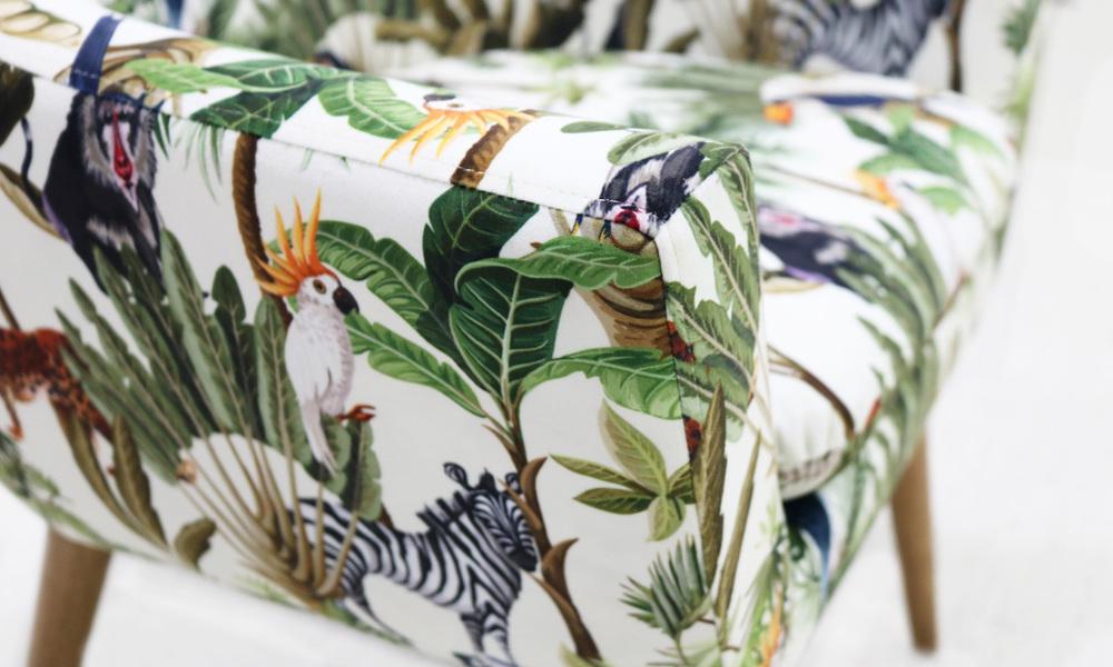 Henri jungle print chair   web4