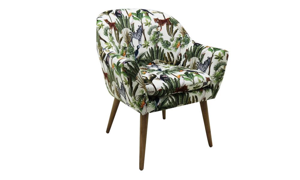 Henri jungle print chair   web2