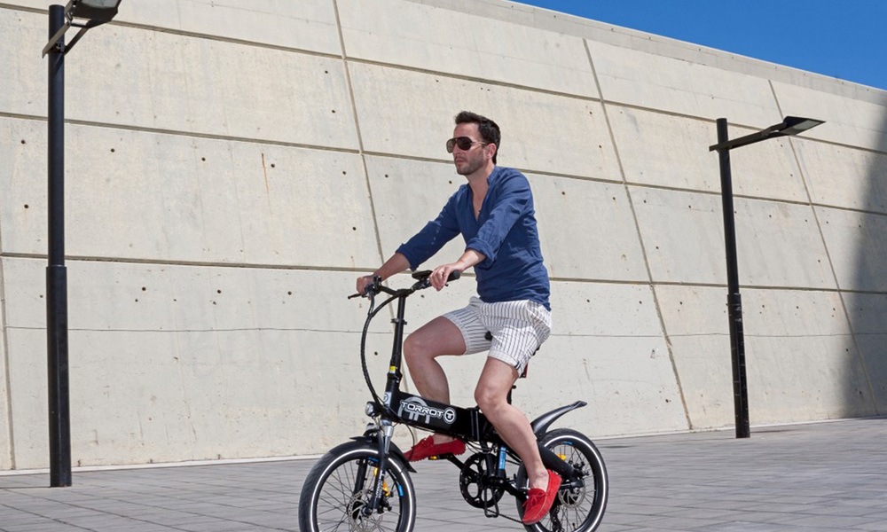 Torrot city surfer folding electric bike   web2