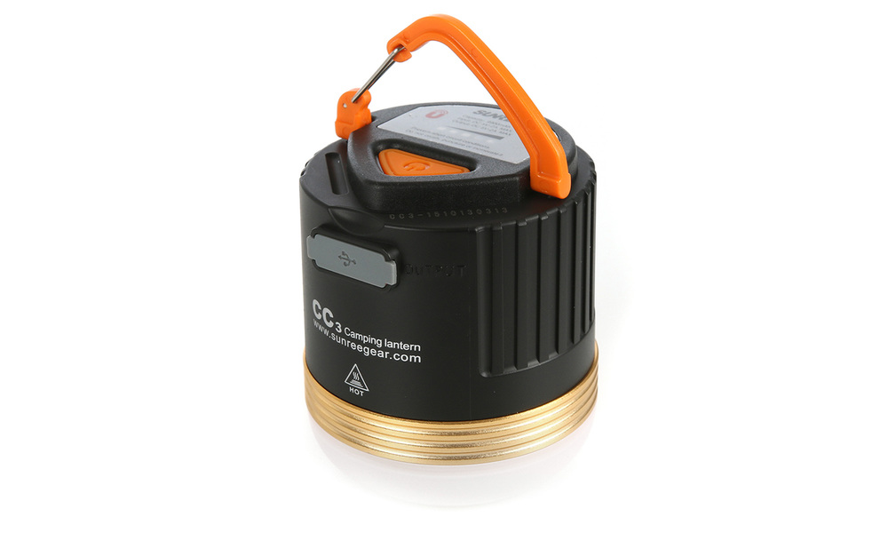 Sunree cc3 rechargeable camping lantern   battery pack   web1