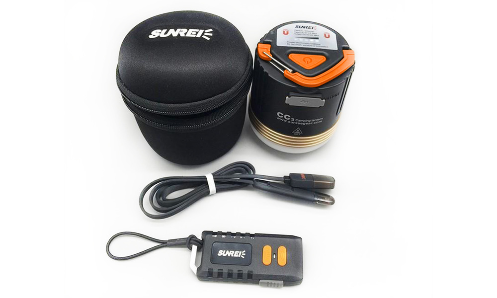 Sunree cc3 rechargeable camping lantern   battery pack   web2