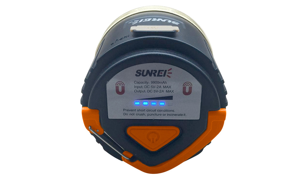 Sunree cc3 rechargeable camping lantern   battery pack   web4