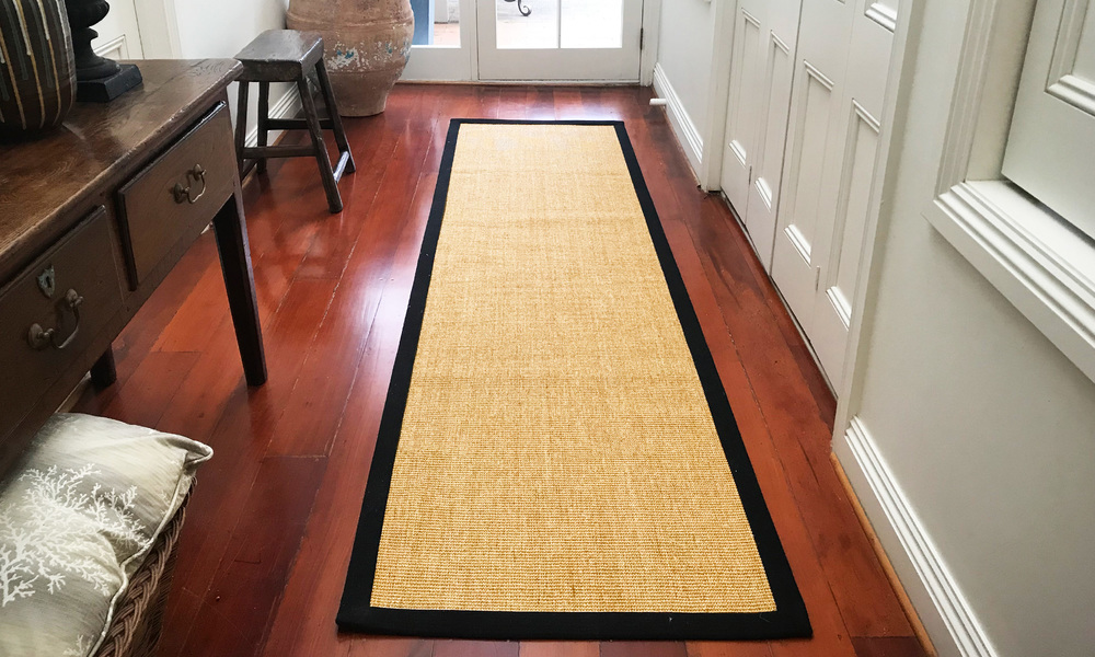 Hallway runner   sisal rug with border   web1 %281%29