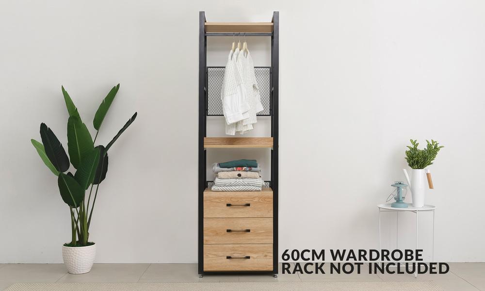 Paxton 60cm 3 tier drawer unit web 1