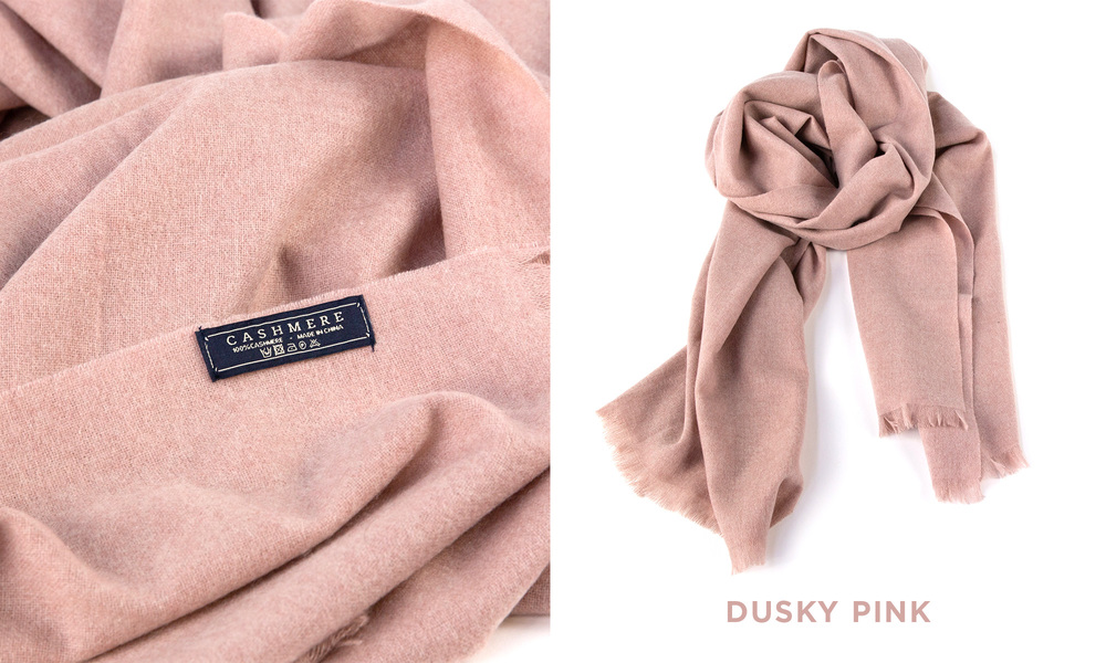 Pink   cashmere scarf   web1