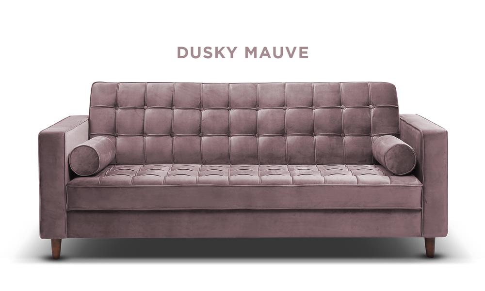 Dusky mauve   knightly velvet couch   web1