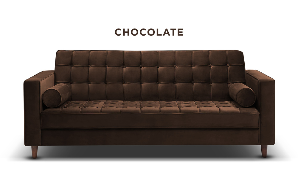 Chocolate   knightly velvet couch   web1