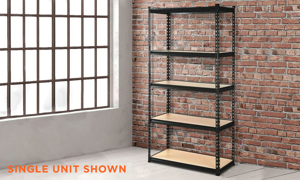 Giantz 5 tier industrial shelving unit   web1