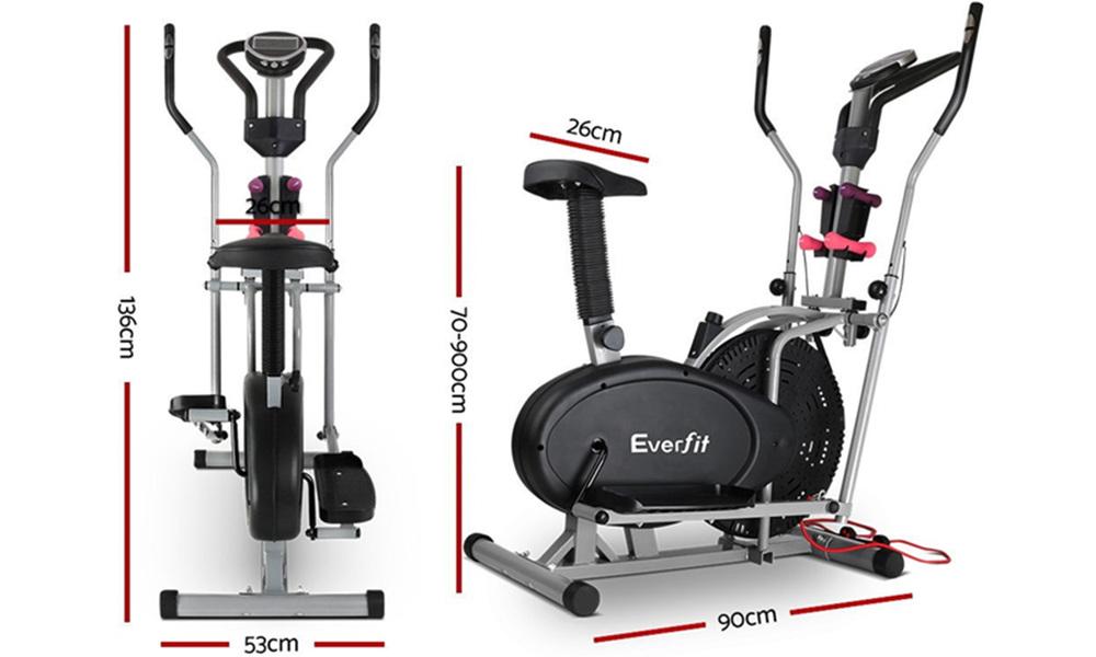 Everfit 6in1 elliptical cross trainer    web2
