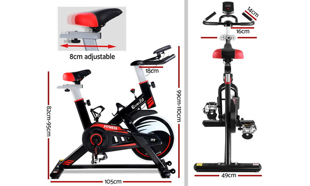Everfit commercial home workout exercise bike   web2