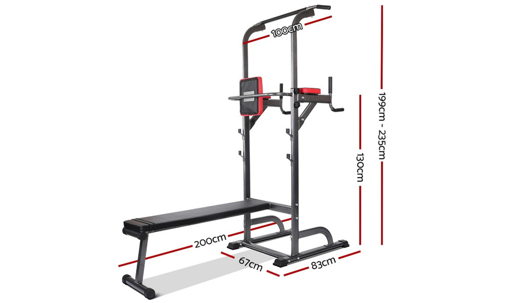 Everfit multi function power tower   web2