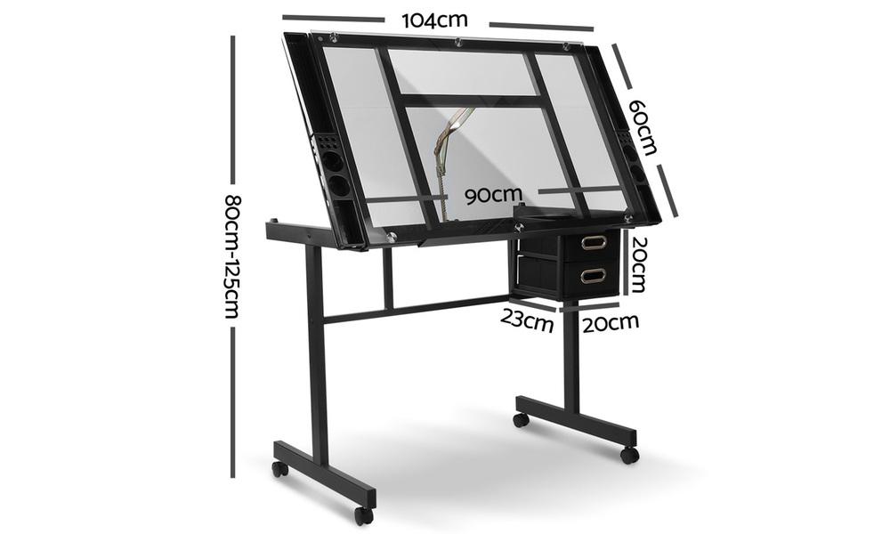 Artiss adjustable drawing desk    web2