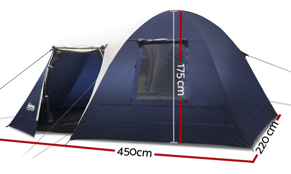 Weisshorn 4   6 person dome tent   web2