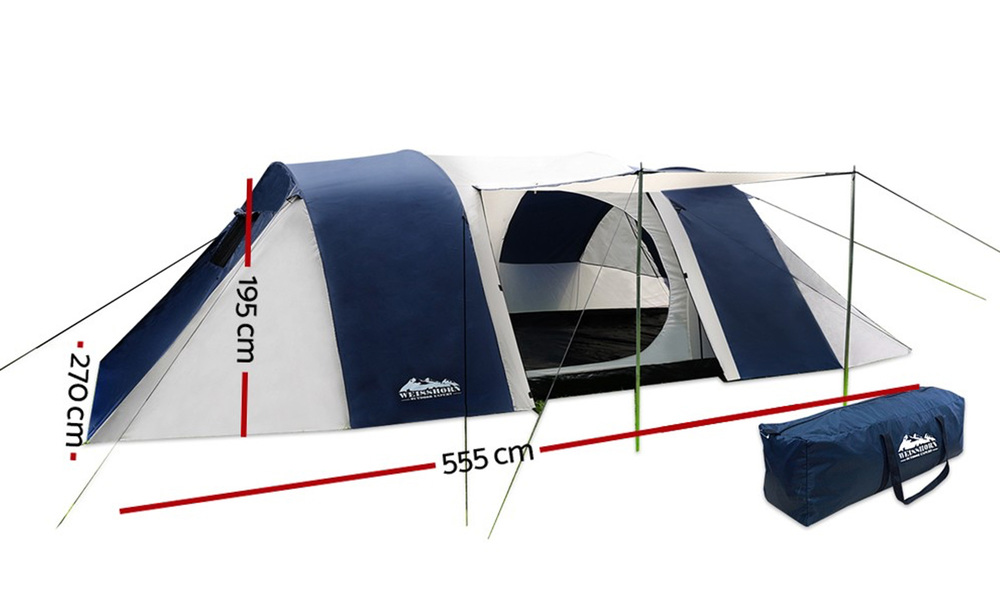 Weisshorn 6   8 person dome tent   web2