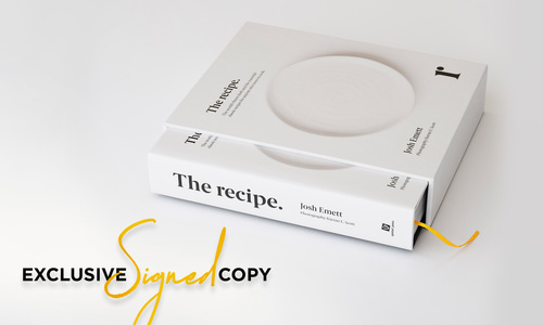 The recipe josh emett   signed   web1