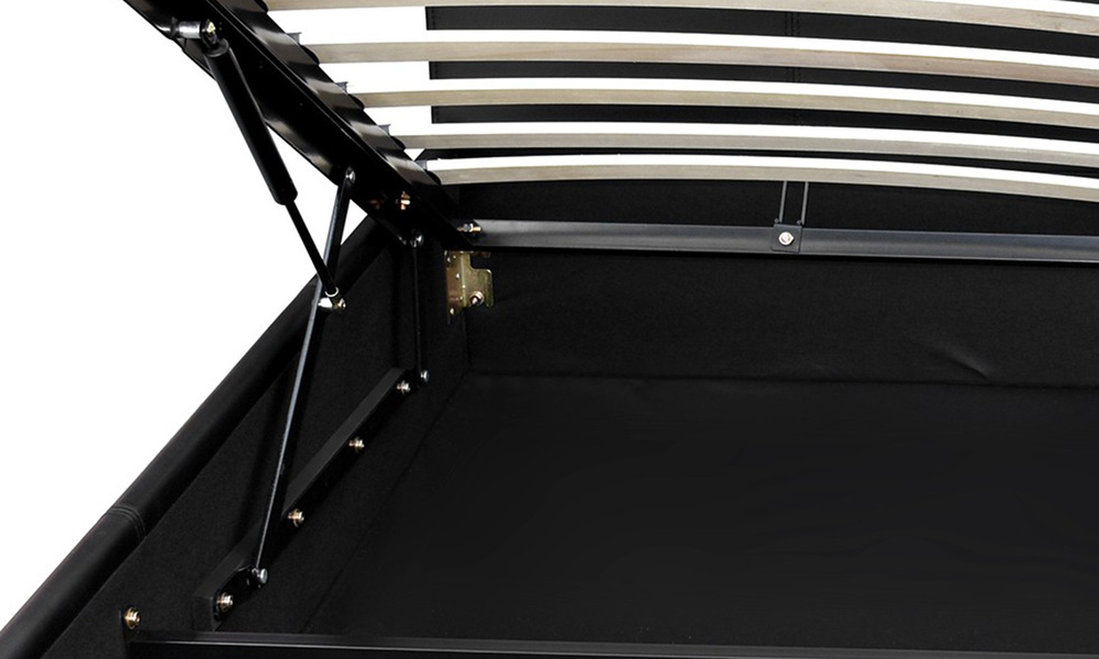 Artiss pu leather gas lift bed frame   web8