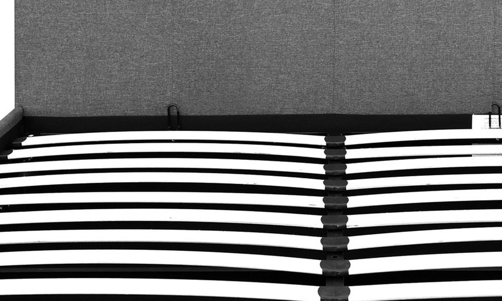 Artiss fabric gas lift bed frame   web5