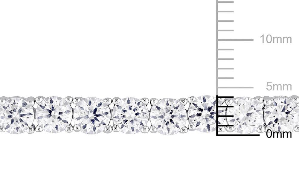 White sapphire tennis bracelet   web2