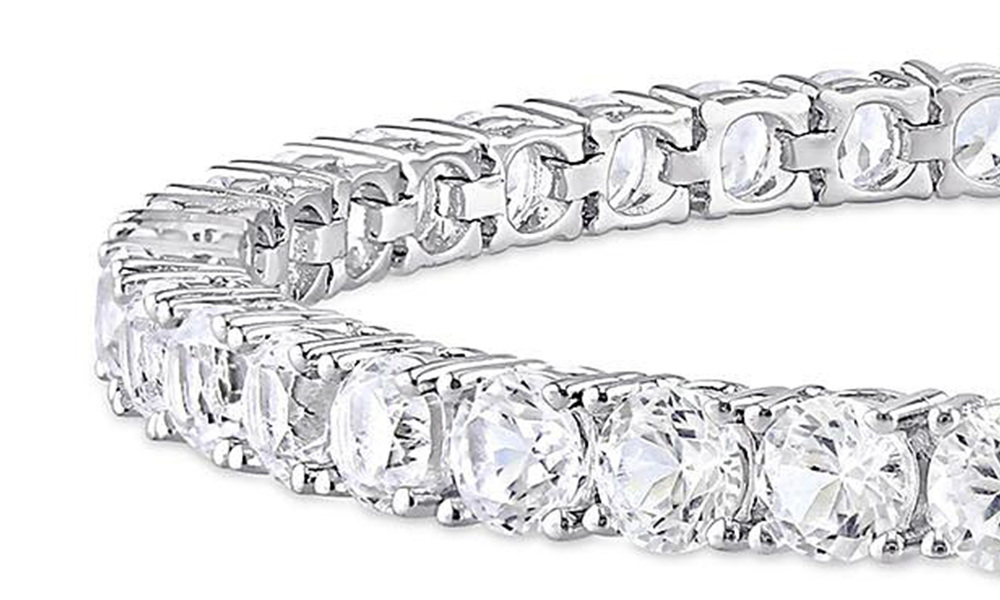 White sapphire tennis bracelet   web5