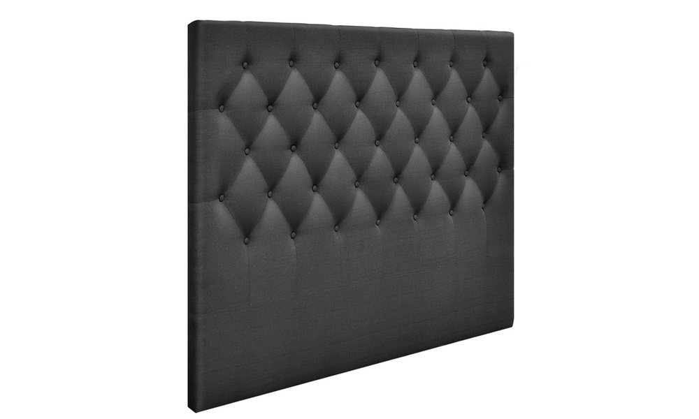 Charcoal   artiss upholstered fabric headboard   web4