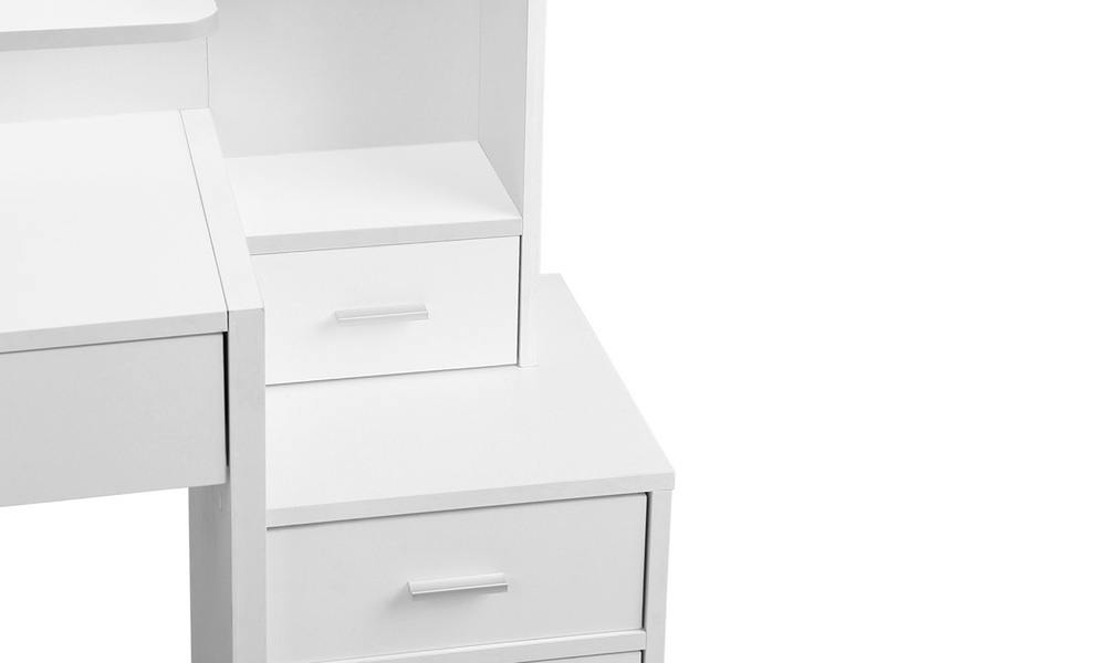 Artiss dressing table with stool and drawers   web4