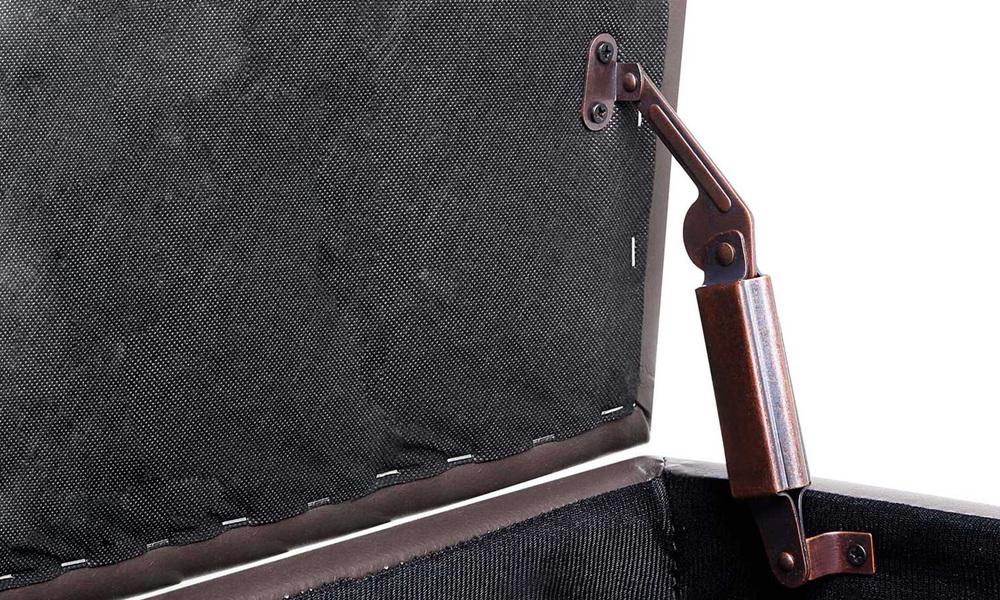 Brown   artiss pu leather storage ottoman   web11