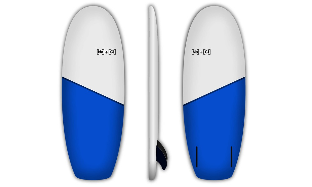 G035 simmons surfboards blue