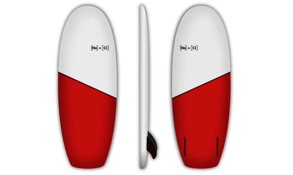 G035 simmons surfboards cherry
