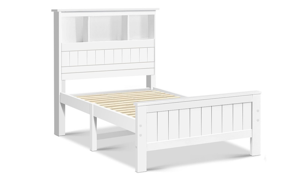 Artiss wooden timber bed frame   web1