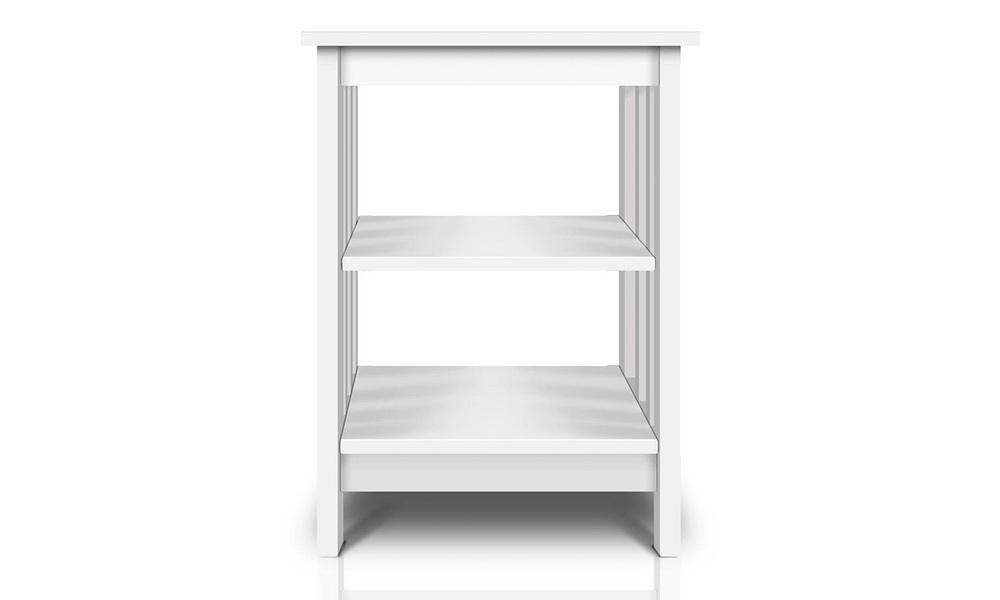 Artiss bedside table with 3 tier shelf   web4