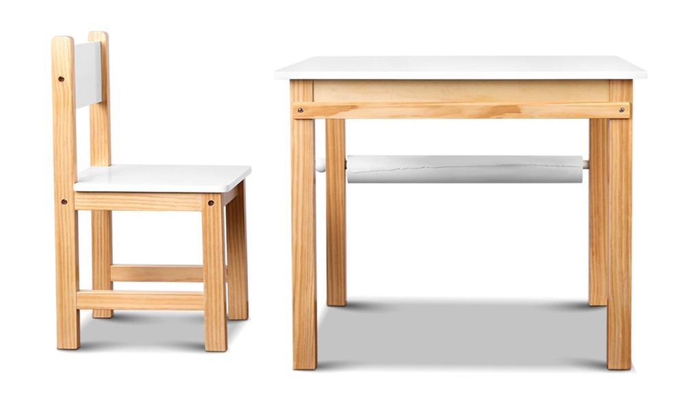 Artiss kids art table and chair set   web3