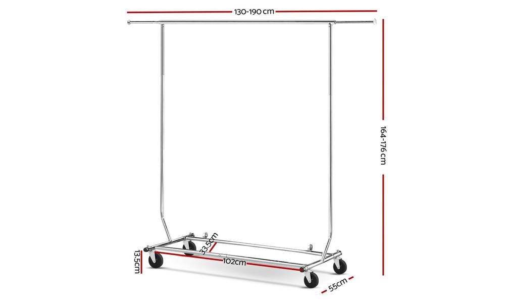 Portable garment rack   web2