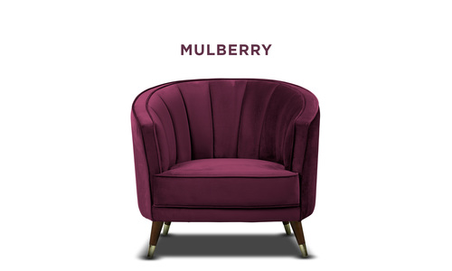 Mulberry   bijou velvet occasional chair   web1