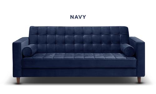 Navy   knightly velvet couch   web1