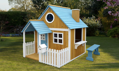 Deluxe wooden playhouse   web1