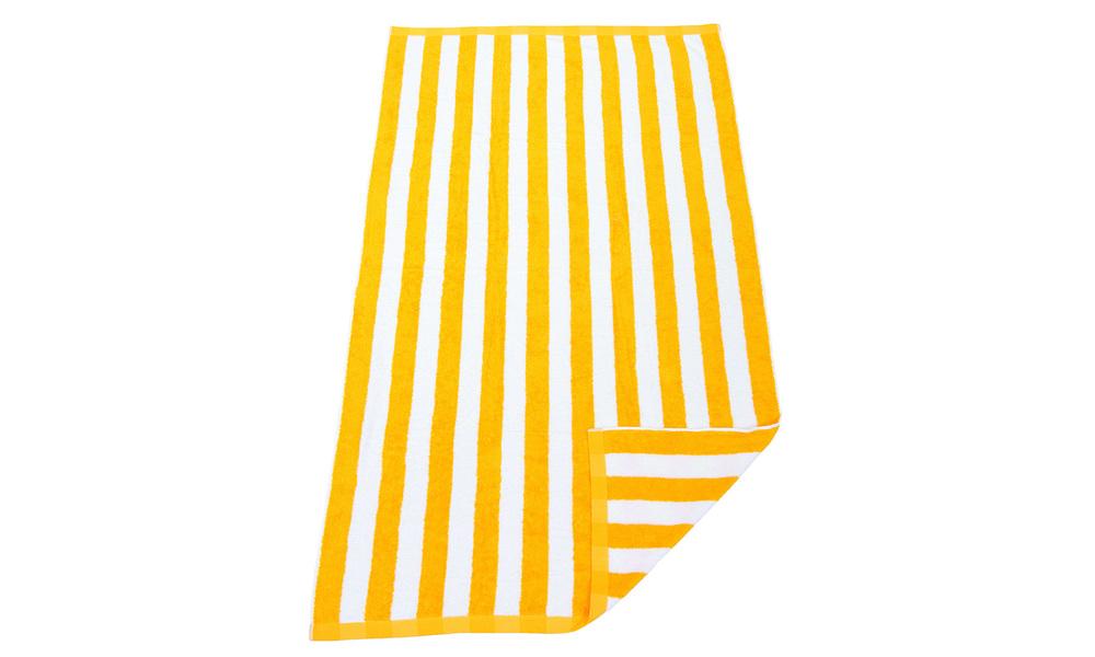 Yellow   hawaiian beach towel   web1