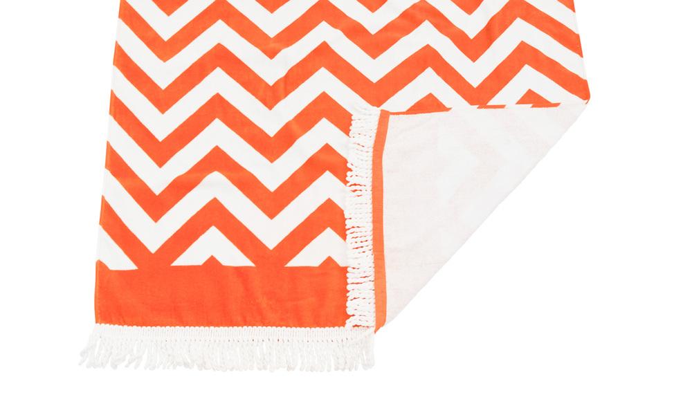Zig zag beach towel   web2