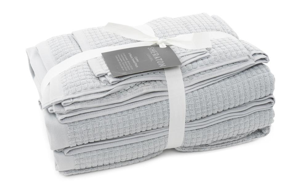 Light graphite   sheraton como 5 piece towel pack   web1
