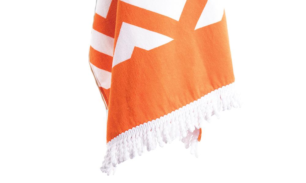 Zig zag beach towel   web3
