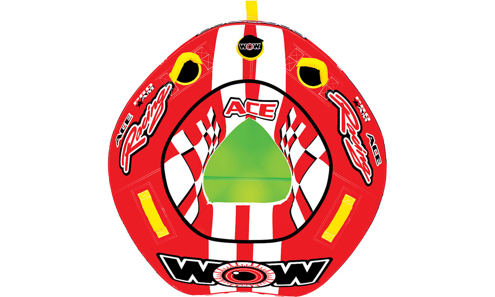 Wow ace racing towable tube  1 person   web1