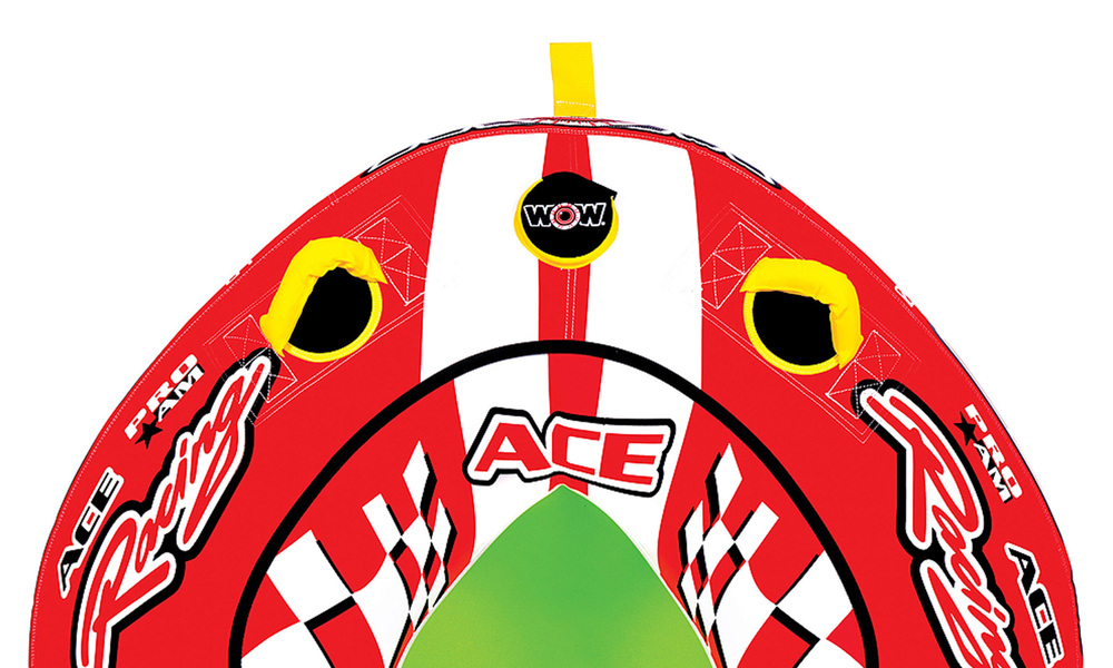 Wow ace racing towable tube  1 person   web2