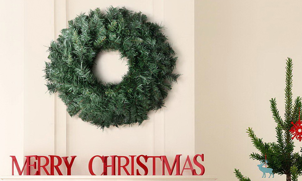Jingle jollys 60cm christmas wreath   web1