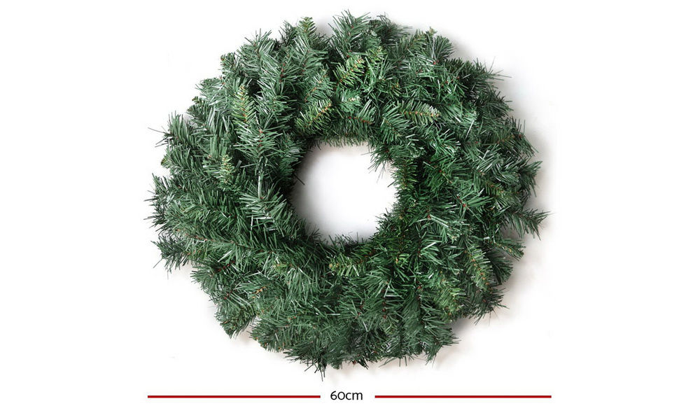Jingle jollys 60cm christmas wreath   web2