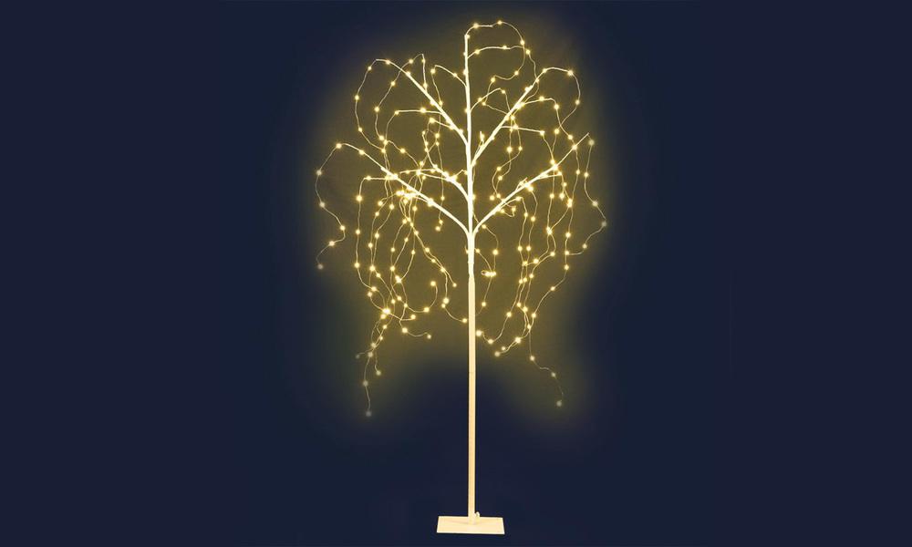 Jingle jollys 1.5m led christmas willow tree 240 led xmas warm white optic fiber   web1